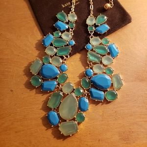 Kate Spade Crystal Fiesta Statement Necklace